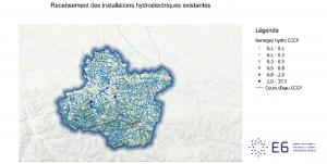 Recensemeent des installations hydroélectriques