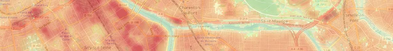 Cartographies des ilots de chaleurs urbains